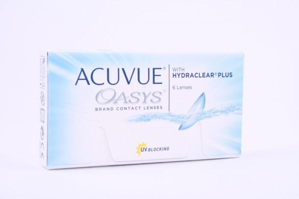 ACUVUE® OASYS® with HYDRACLEAR® PLUS kontaktlencse