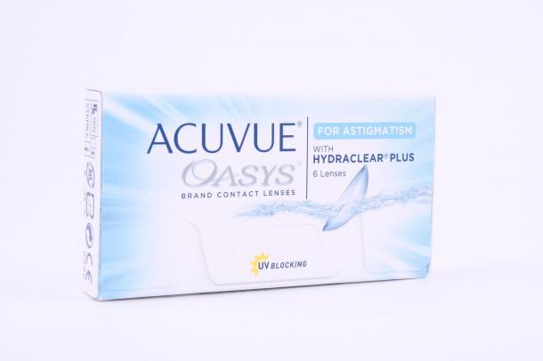 ACUVUE® OASYS® for ASTIGMATISM kontaktlencse