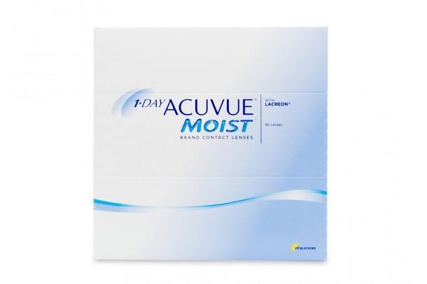 1-DAY ACUVUE® MOIST kontaktlencse (90db/doboz)