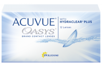 ACUVUE® OASYS® with HYDRACLEAR® PLUS kontaktlencse (6db/doboz)